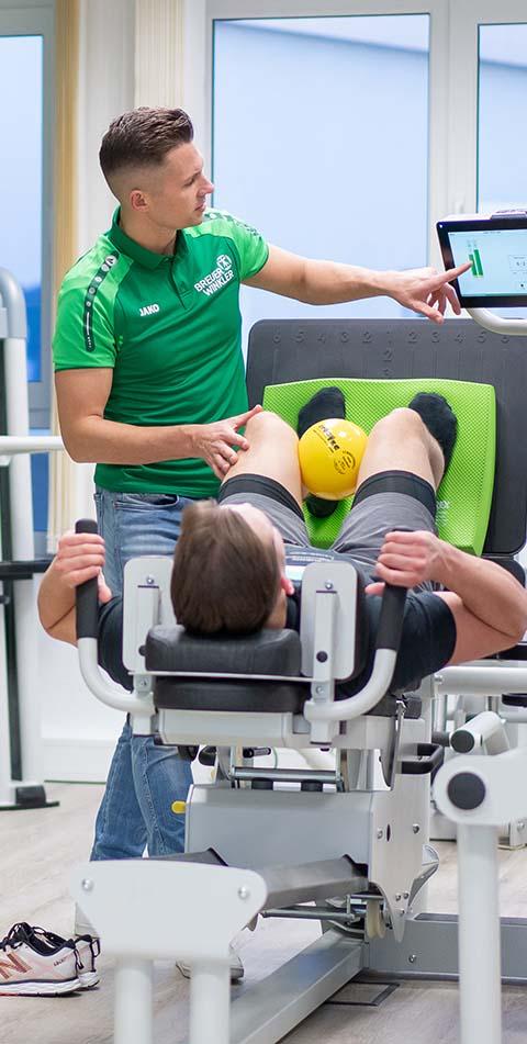 Medizinische Trainingstherapie Bild